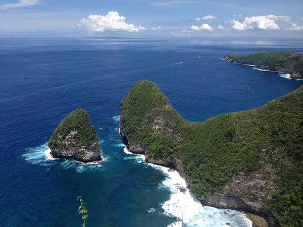 Keindahan Pantai Kelingking di Nusa Penida Bali » Indahnya Pantai Kelingking Secret Point Nusa Penida