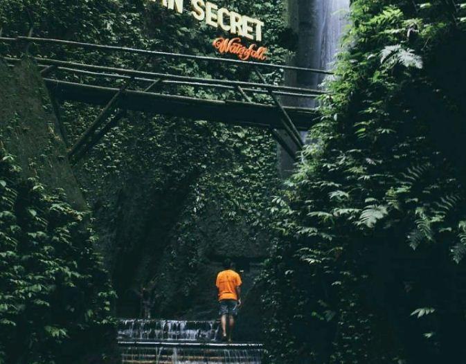 Aan Secret Waterfall Klungkung 2 » Pesona Aan Secret Waterfall Klungkung, Air Terjun Misterius yang Kini Jadi Lokasi Selfie Favorit