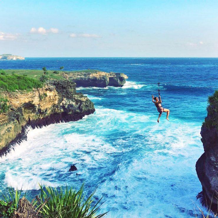 Abyss Zipline Ceningan Island Resort