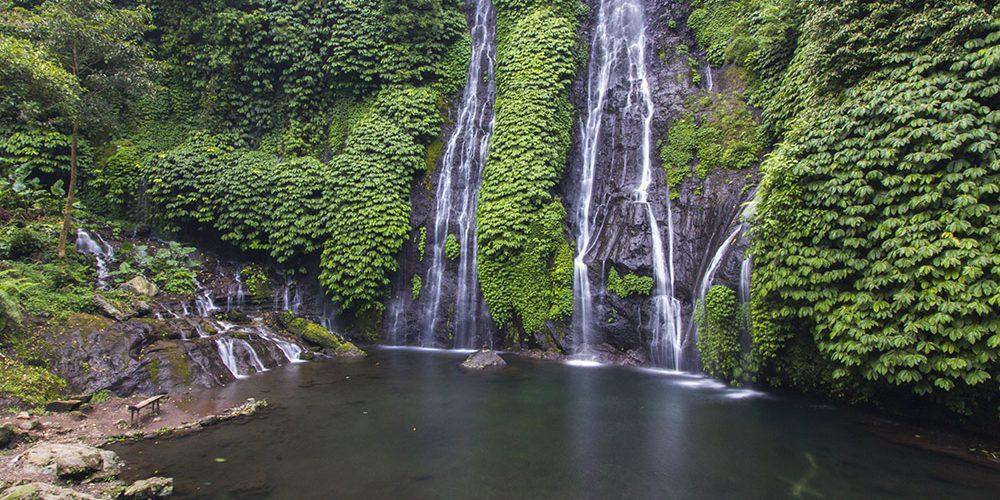 7 air terjun di Bali paling indah