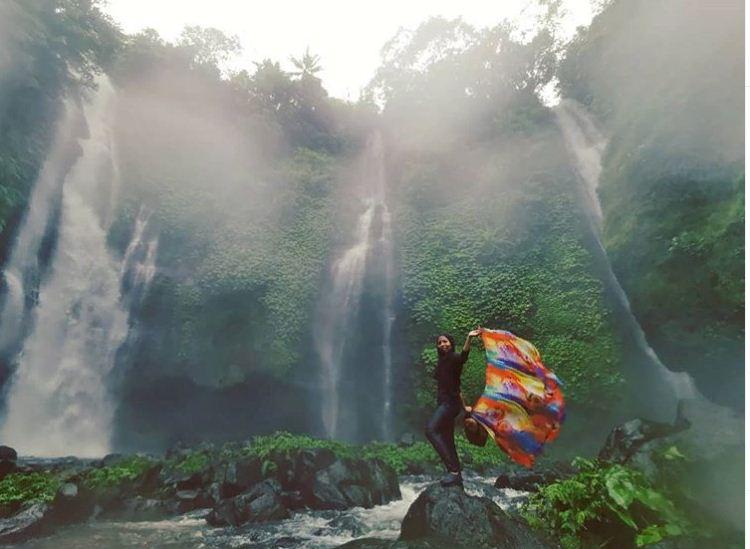 Air Terjun Fiji Desa Lemukih 1 » Menyaksikan 3 Air Terjun Sekaligus di Air Terjun Fiji Desa Lemukih