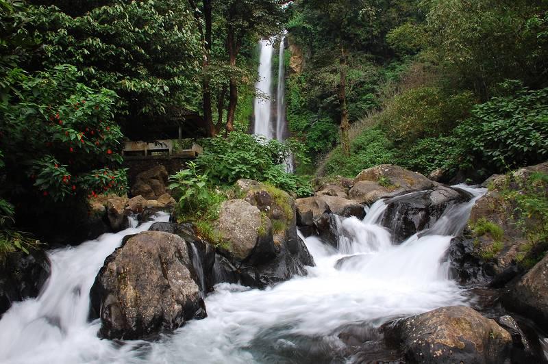 Air Terjun Gitgit 1 » Segarnya Mandi di Guyuran Air Terjun Gitgit Bali