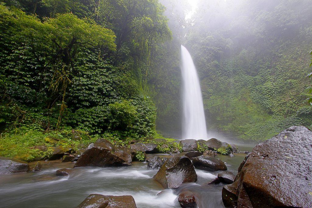 Air Terjun Nungnung di Badung Bali via 1024x683 » Air Terjun Nungnung, Wisata Alam yang Eksotis di Badung