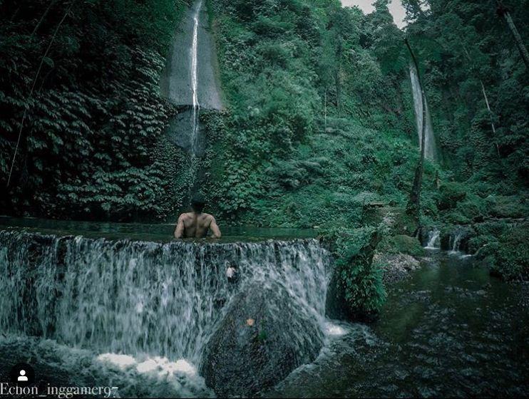 Air Terjun Pucak Manik Wanagiri 3 » Air Terjun Pucak Manik Wanagiri, Kemegahan Tiga Air Terjun Kembar yang Fenomenal