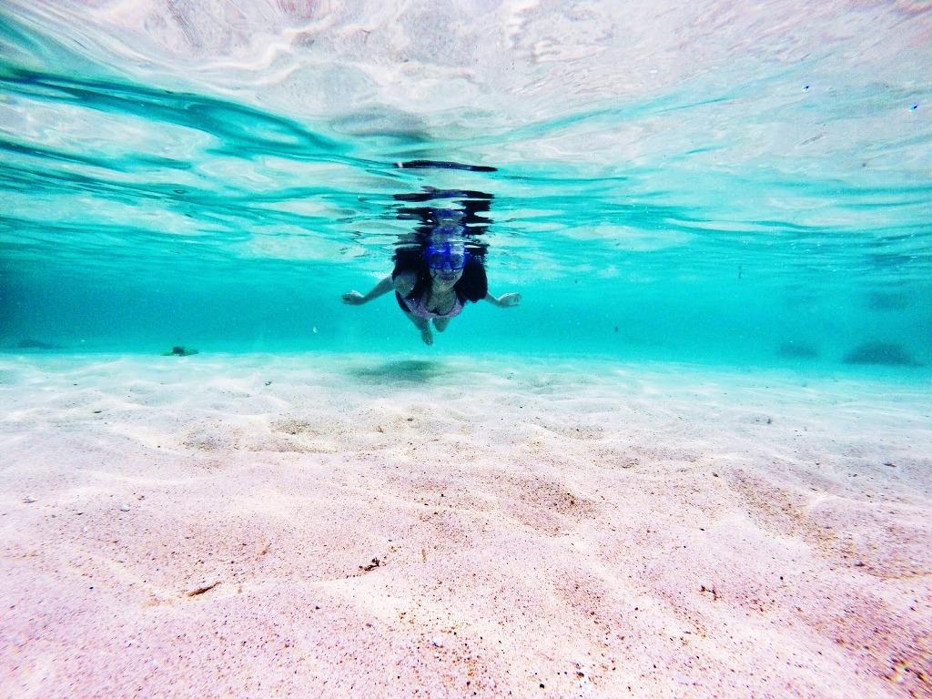 Pantai Geger Nusa Dua, Pantai Pasir Putih yang Alami