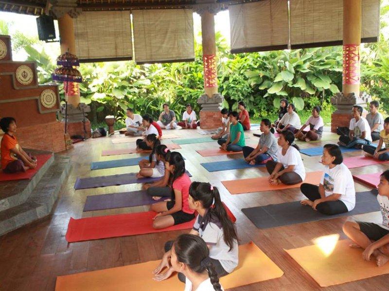 Anand Ashram Ubud 2 » Liburan Anti-Mainstream di Bali, Menginap Sekaligus Mencoba Yoga di Anand Ashram Ubud