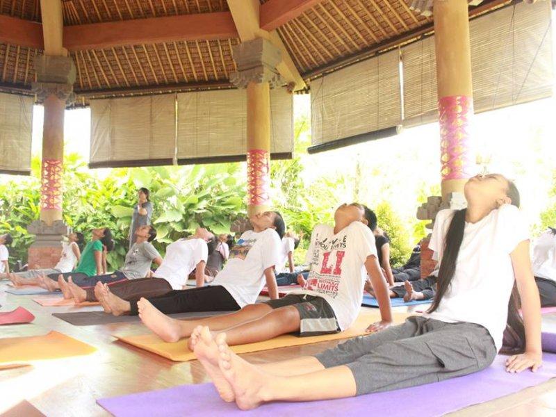 Liburan Anti-Mainstream di Bali, Menginap Sekaligus Mencoba Yoga di Anand Ashram Ubud