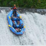 Arung Jeram Sungai Telaga Waja
