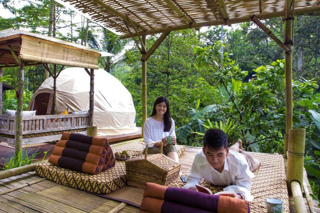 Bali Jungle Camping Padangan 3 1024x682 » Bali Jungle Camping Padangan, Cara Berbeda Menikmati Liburan ke Bali dengan Berkemah Mewah