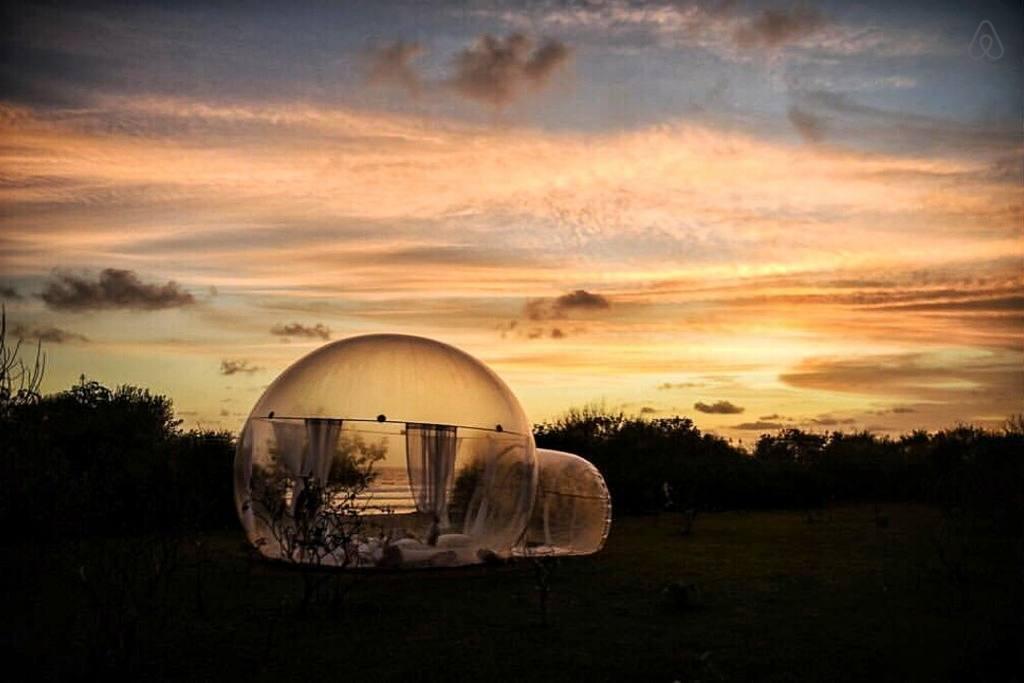 Bubble Hotel Pecatu, Berikan Pengalaman Tak Terlupakan Menginap di Hotel Unik ala Gelembung di Tepi Pantai
