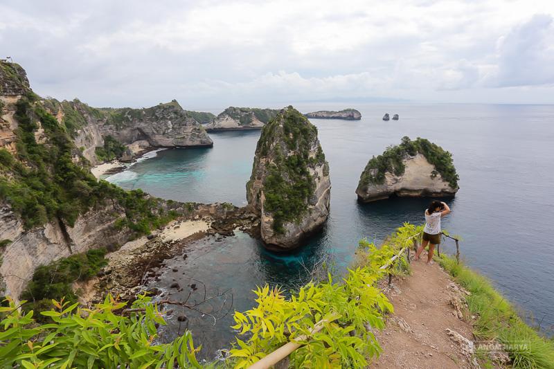 Bukit Molenteng Nusa Penida 1 » Bukit Molenteng Nusa Penida, Pemandangan ala Raja Ampat di Bali