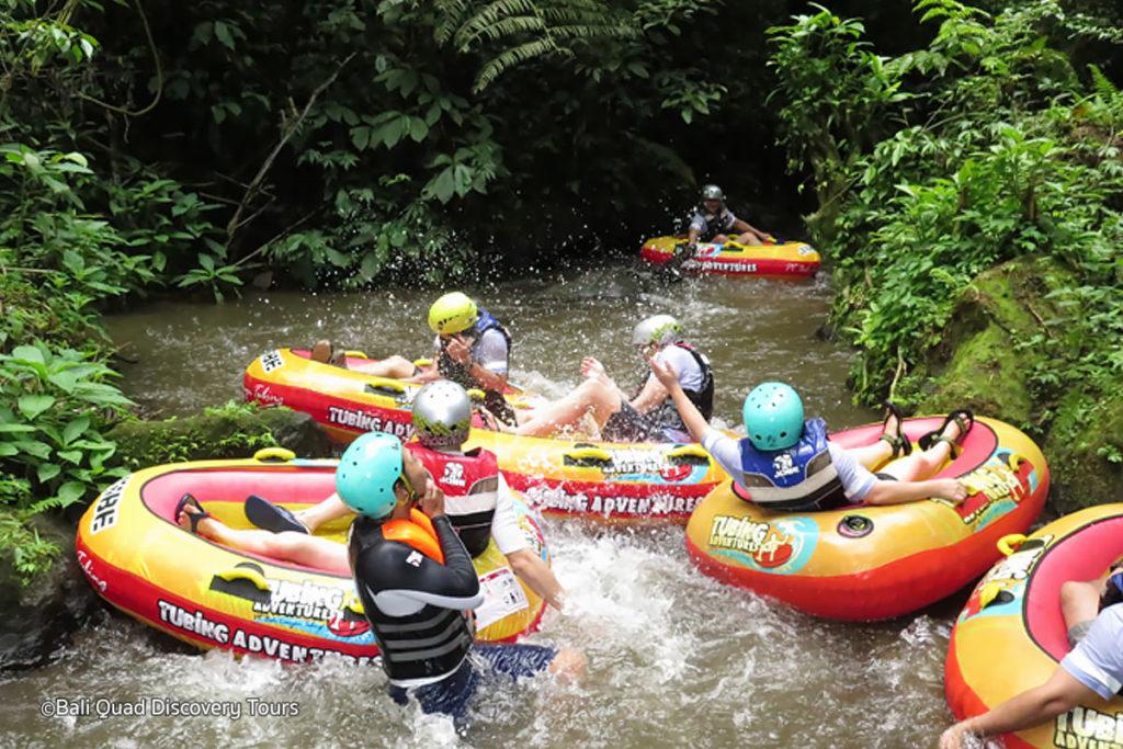 Canyon Tubing Bali 4 1024x683 » Canyon Tubing Bali, Sensasi Liburan Menantang Mengarungi Aliran Sungai Siap Ngarai Payangan