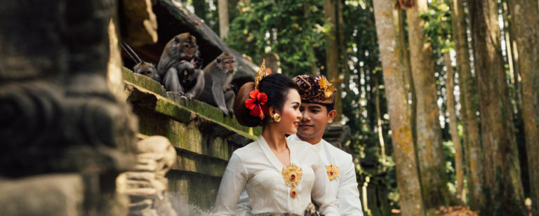 Foto Prewedding di Sangeh Monkey Forest