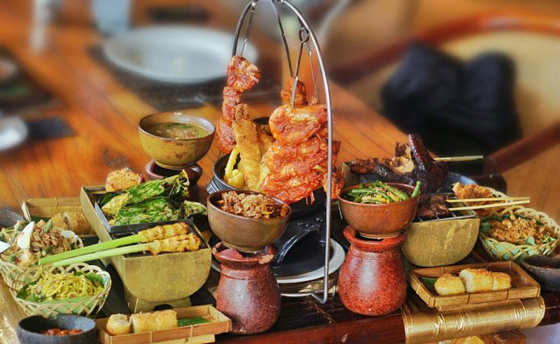 Menikmati Kuliner ala Bangsawan di Gabah Restaurant Bali