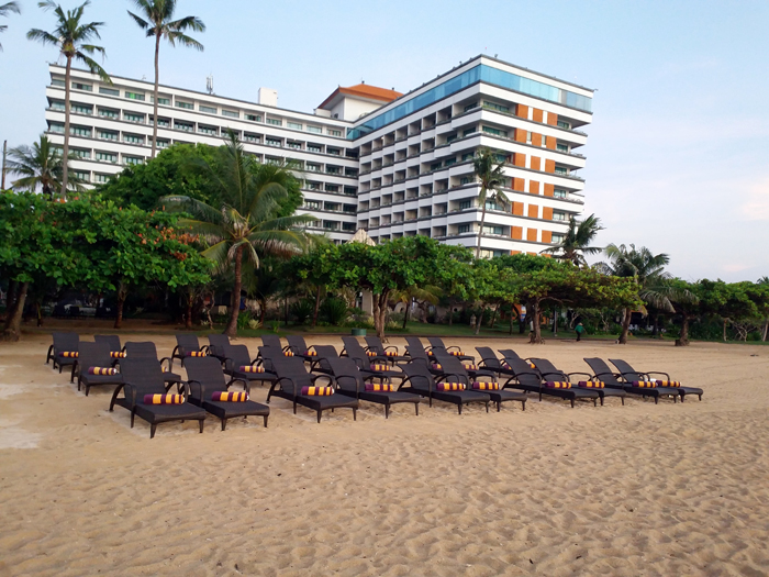 Grand Inna Bali Beach, Hotel Bintang 5 Pertama dan Tertua di Pulau Dewata