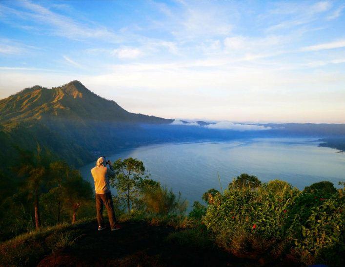 Fakta Unik Dua Gunung Api di Bali, Gunung Batur dan Gunung Agung