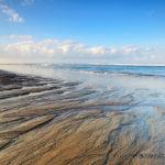 Hamparan pasir yang dijumpai di Pantai Berawa Canggu Bali