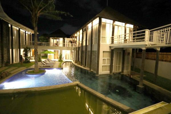 Hotel 808 Residence Bali, Kombinasi Suasana Modern, Tradisional dan Mewah
