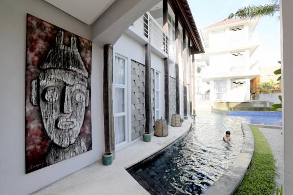 Hotel 808 Residence Bali 3 » Hotel 808 Residence Bali, Kombinasi Suasana Modern, Tradisional dan Mewah