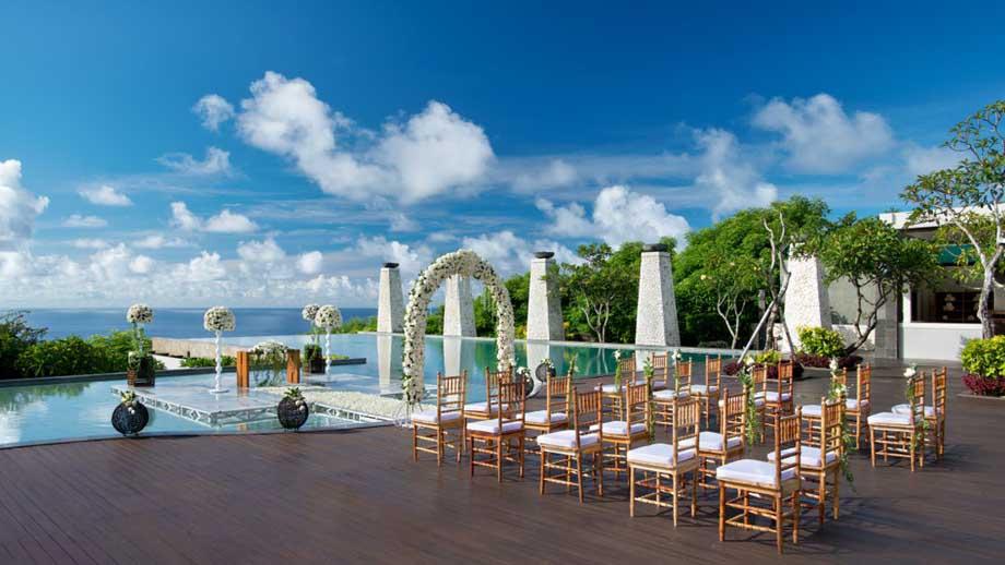 Hotel Banyan Tree Ungasan 1 » Pesta Pernikahan Outdoor dan Indoor yang Romantis di Bali? Pilih Banyan Tree Ungasan Saja!
