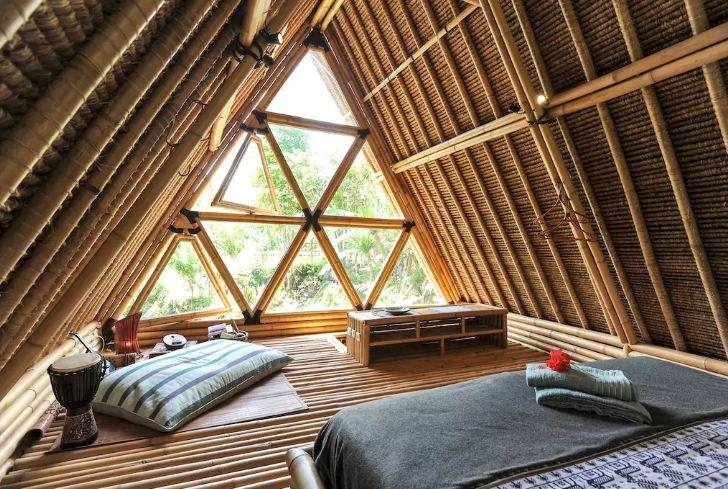 Hotel Hideout Bali 3 » Hotel Hideout Bali - Penginapan Ramah Lingkungan dari Bambu yang Tersembunyi di Kaki Gunung