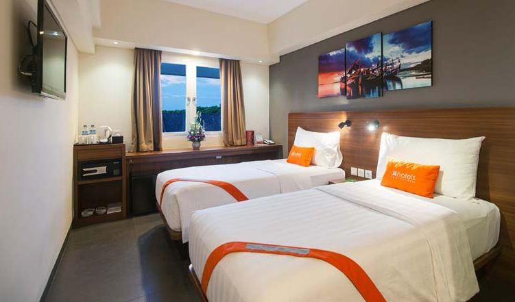 Hotel J4 Legian 4 » Hotel J4 Legian - Hotel untuk Kawula Muda yang Gaul dengan Pemandangan Sunset Keren