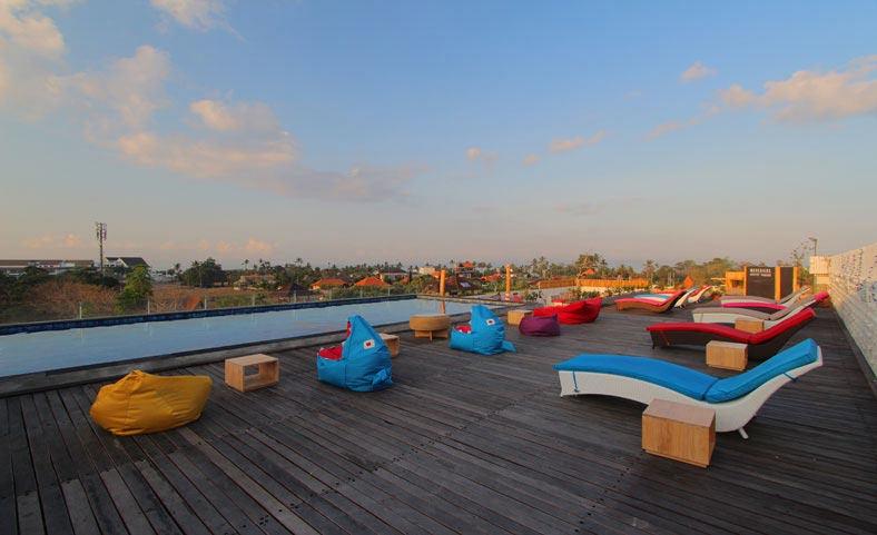 Hotel Koa DSurfer 1 » Hotel Koa D'Surfer, Hotel Unik untuk Para Peselancar di Canggu, Bali