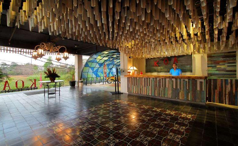 Hotel Koa DSurfer 3 » Hotel Koa D'Surfer, Hotel Unik untuk Para Peselancar di Canggu, Bali