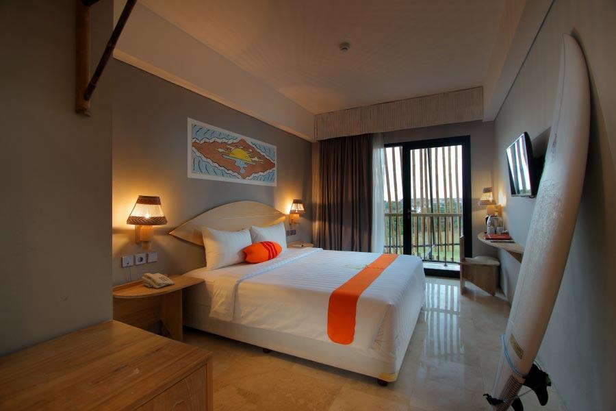Hotel Koa DSurfer 4 » Hotel Koa D'Surfer, Hotel Unik untuk Para Peselancar di Canggu, Bali