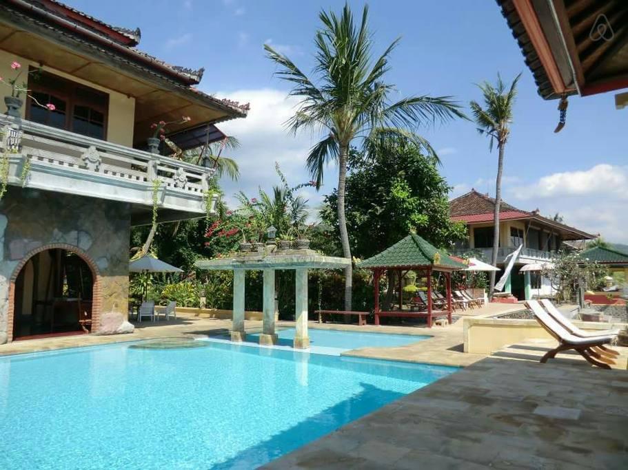 Hotel Pantai Mas Lovina 5 » Hotel Pantai Mas Lovina, Penginapan Murah yang Menawarkan Pantai Pribadi Cantik
