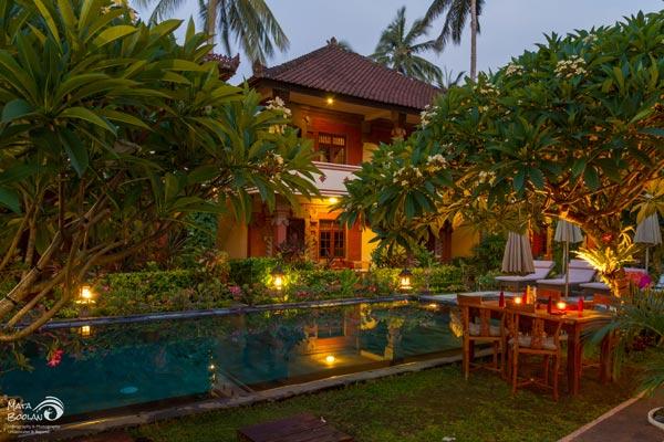 Hotel Rama Shinta Candidasa 3 » Hotel Rama Shinta Candidasa, Resort Romantis dengan Suasana Alam yang Tenang di Karangasem