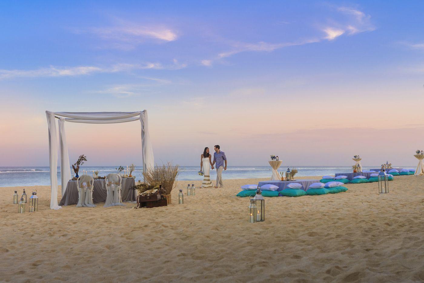 Hotel Ritz Charlton Nusa Dua, Tawarkan Venue Perkawinan yang Romantis Berbalut Suasana Mewah