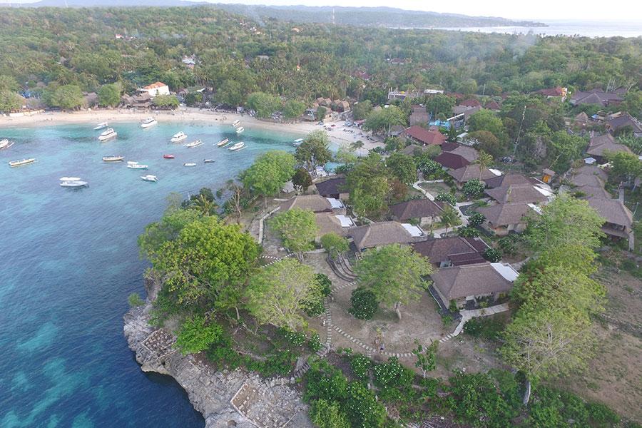 Hotel Sadeg Lembongan 2 » Hotel Sadeg Lembongan, Hotel dengan Infinity Pool yang Suguhkan Pemandangan Mushroom Beach