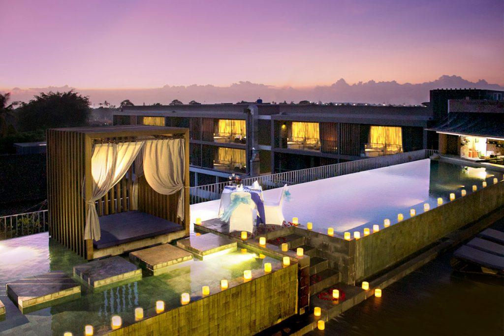Hotel Watermark Jimbaran 3 1024x683 » Hotel Watermark Jimbaran, Hotel Romantis dengan Kolam Rooftop yang Memesona