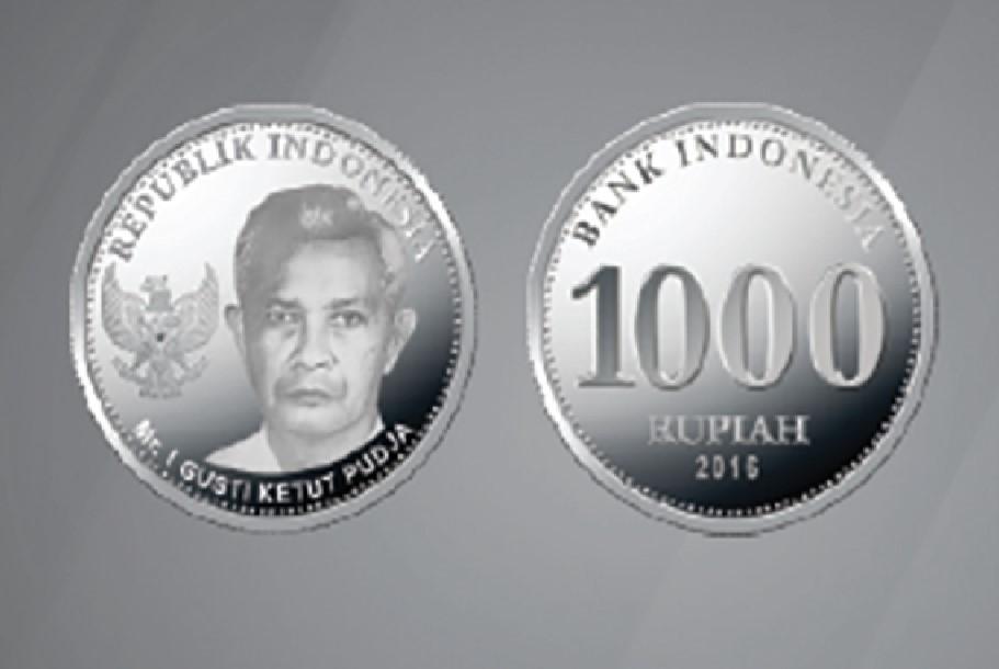 I Gusti Ketut Pudja, Sosok Pahlawan Nasional dari   Bali di Uang Pecahan Rp1.000