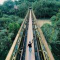Jembatan Gantung Kuno Lembar
