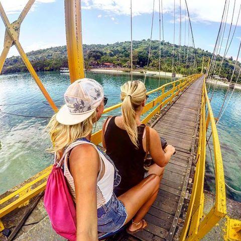 Jembatan Kuning Nusa Ceningan