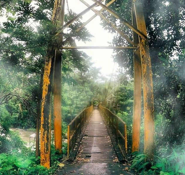 Jembatan Kuning Tukad Yeh Unda 1 » Jembatan Kuning Tukad Yeh Unda, Destinasi Wisata Murah Meriah dan Asyik di Bali