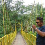 Jembatan Kuning Tukad Yeh Unda
