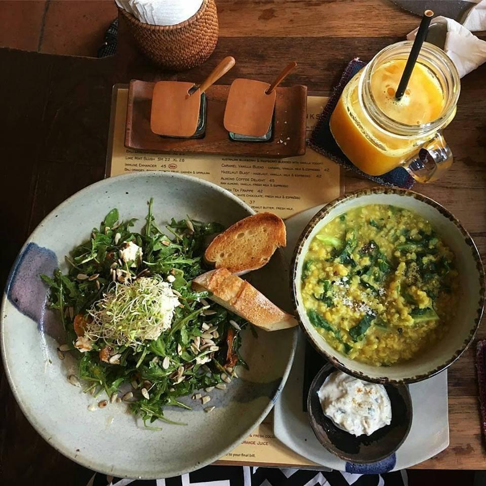 Kafe Ubud Bali 3 » Kafe Ubud Bali, Sajian Menu Organik dan Sehat untuk Para Vegetarian