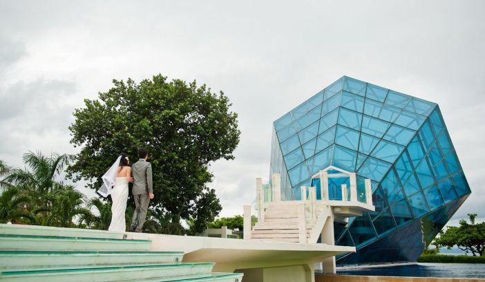 Kapel Diamond Sanur 1 » Kapel Diamond Sanur, Venue Pernikahan Unik dan Keren dengan Bangunan Berbentuk Perhiasan