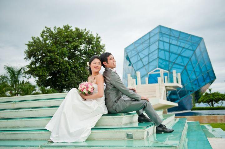 Kapel Diamond Sanur 4 » Kapel Diamond Sanur, Venue Pernikahan Unik dan Keren dengan Bangunan Berbentuk Perhiasan