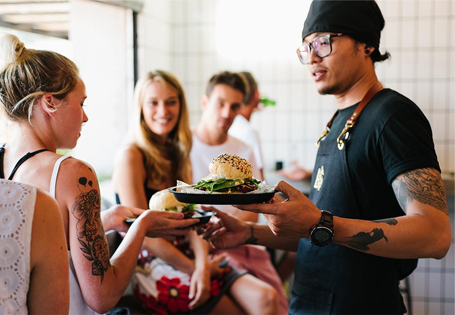 Kedai Boss Man Seminyak 1 » Kedai Boss Man Seminyak, Kuliner Spesialis Burger di Bali