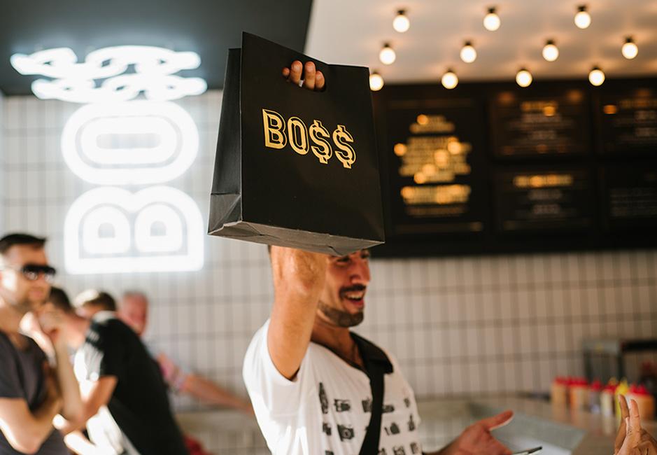 Kedai Boss Man Seminyak, Kuliner Spesialis Burger di Bali