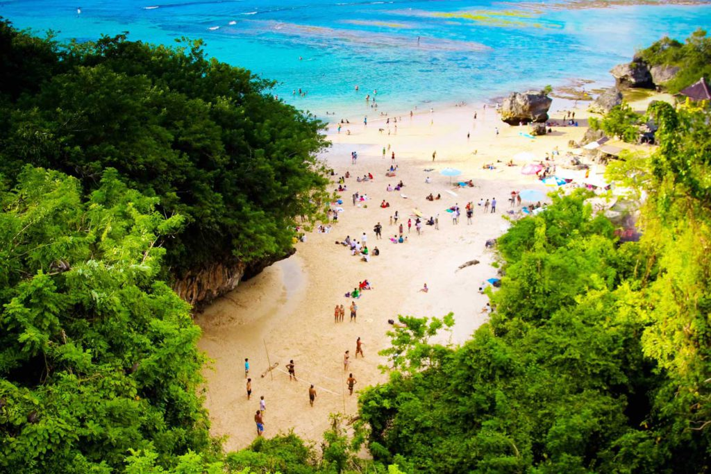 Keindahan Pantai Padang Padang Bali 1024x683 » Pantai Padang Padang Bali, Pantai Romantis Lokasi Syuting Eat Pray Love