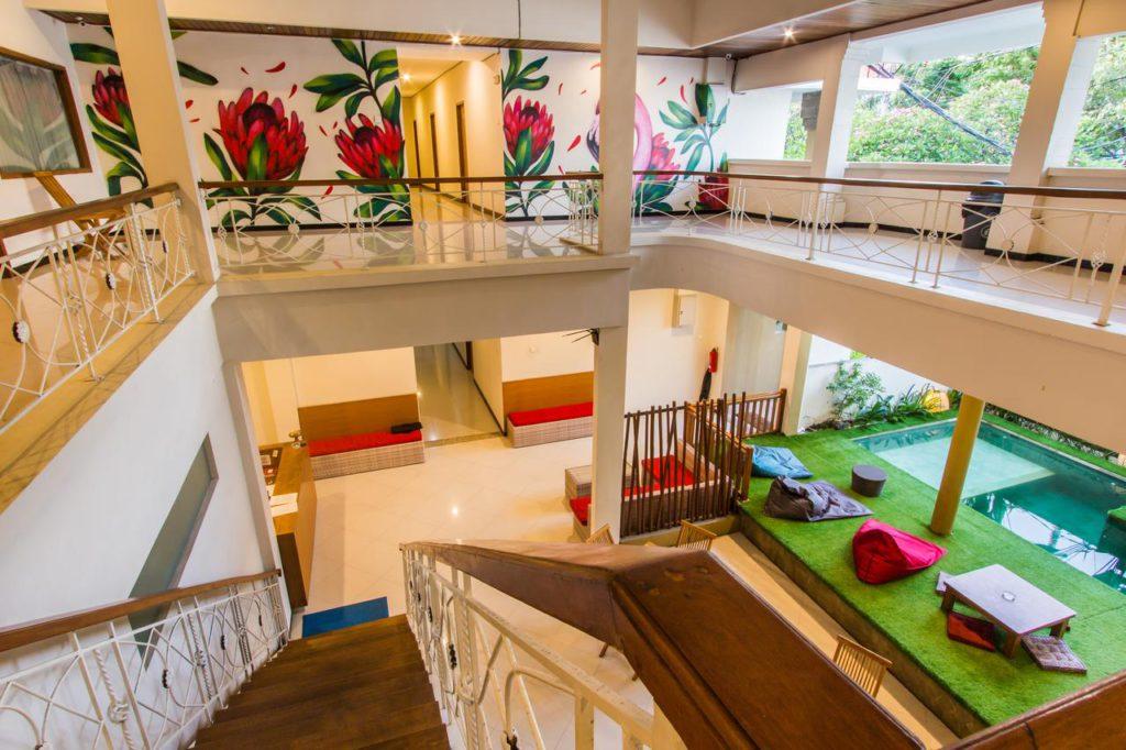 Kuta Suci Beach Hotel Bali 4 1024x682 » Kuta Suci Beach Hotel Bali, Penginapan Murah Dekat Pantai yang Instagramable