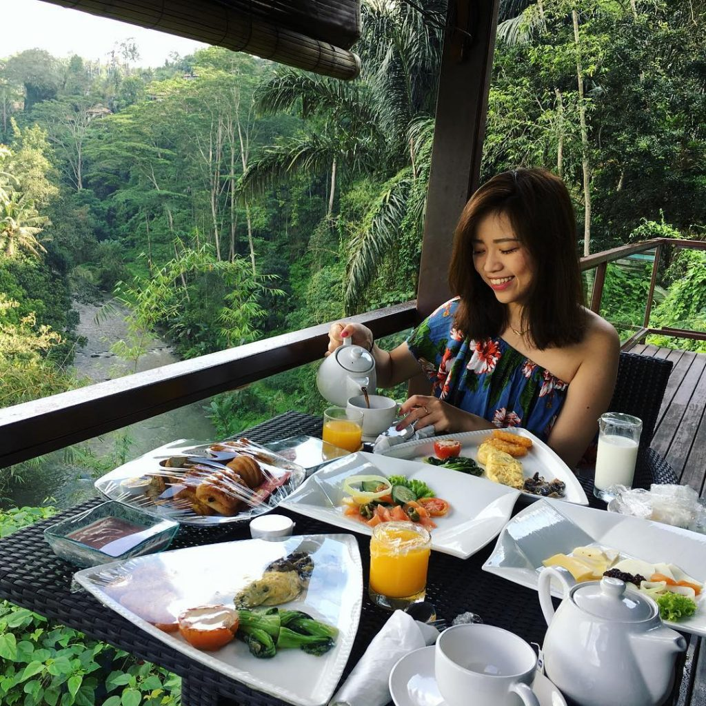 La View Restaurant Ubud 3 » La View Restaurant Ubud, Tempat Makan Romantis dengan Panorama Sungai Ayung dan Suasana Alami
