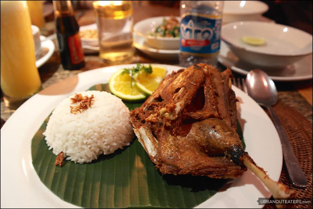 Laka-Leke Hideaway Restaurant Ubud, Sajian Bebek Crispy-nya Menggugah Selera