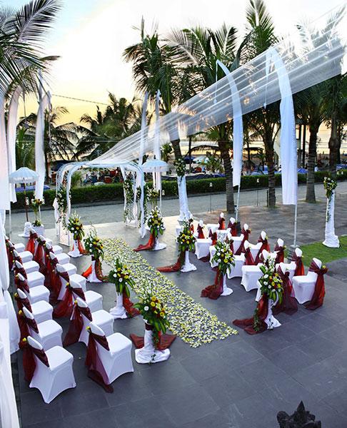 Legian Beach Hotel Kuta 4 » Legian Beach Hotel Kuta, Sediakan Paket Pernikahan Bernuansa Tepi Pantai yang Romantis