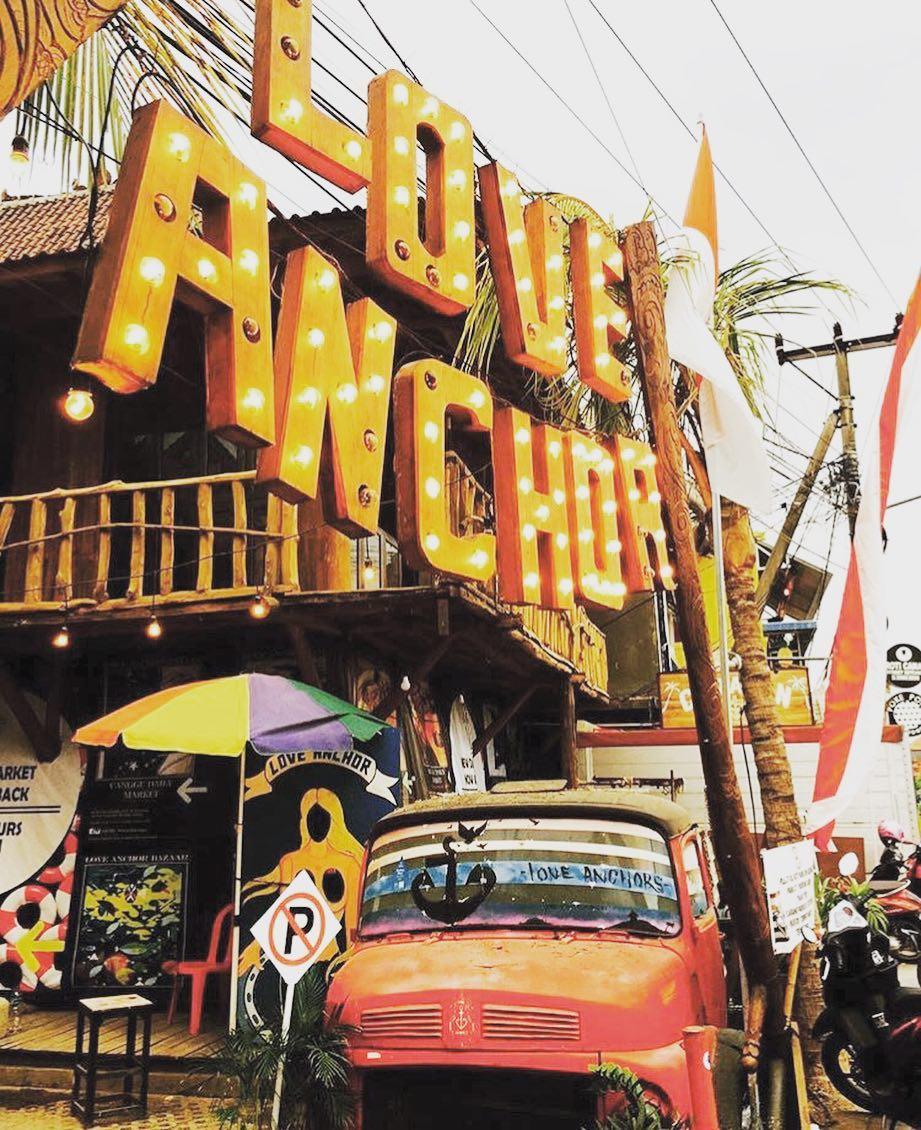 Love Anchor Canggu, Pilihan Lokasi Wisata Belanja Unik Sambil Berburu Foto Kekinian